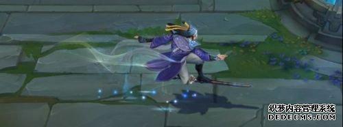 LOL剑圣玉剑传说无极皮肤上线 满满的仙侠风